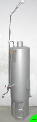 Колонка водогрейная КВО-1 80 л