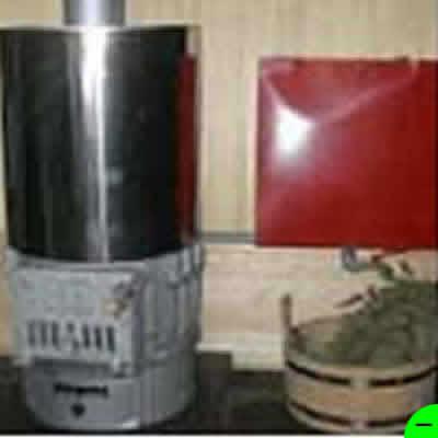 Печь для бани Карелия-4 АТБ-4-20-75 с контуром и выносным баком 75 л