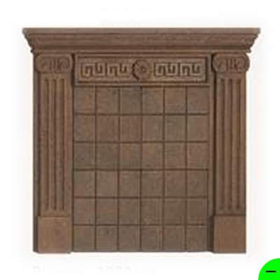 Портал Колонна коричневый