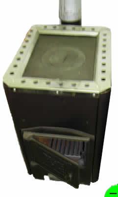 Печь отопительно-варочная Уют-1 с одноконфорочной плитой