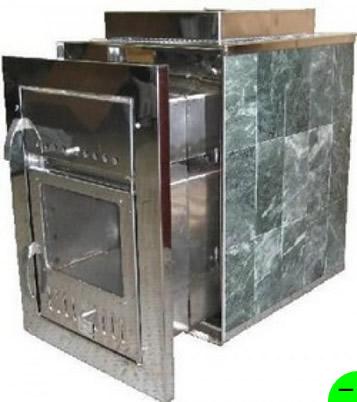 Печь для бани Чародейка-М 20 м3 (облицовка  талькохлорит)