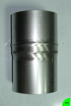 Переходник Ø110мм*Ø120мм нерж. 1.0мм