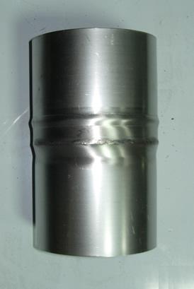 Переходник Ø130мм*Ø150мм нерж. 1.0мм