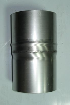 Переходник Ø115мм*Ø120мм нерж. 1.0мм