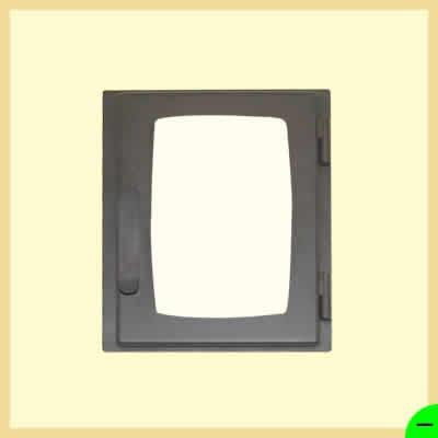 Дверка печная ДВ285-1Б</br>285мм*345мм