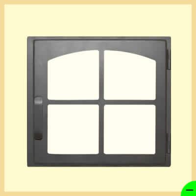 Дверка печная ДЕ424-1К</br>424мм*395мм