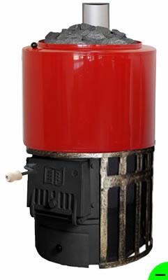 Печь для бани Карелия-2 АТБ-2-20-60 СК1/2 (сетка для камней) с баком 60 л