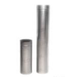 Дымоход труба Ø200мм нерж. 1.0мм L=0.5м