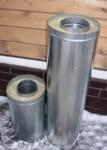 Дымоход сэндвич-труба 150*250 L=0.5м</br>внутренняя труба &Oslash;150мм - нерж. 0.5мм</br> внешний контур &Oslash;250мм - оцинковка 0.5мм