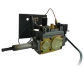 Горелка газовая АГГ-13П (энергозависимая с автоматикой и пультом)